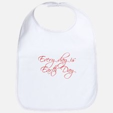 every-day-is-earth-day-scr-red Bib