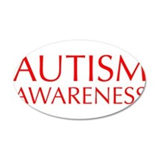 autism-awareness-OPT-RED Wall Decal