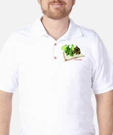 R is for Reading  Golf Shirt