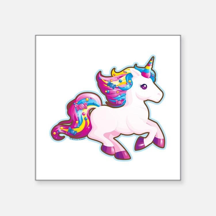 Cute Unicorn Car Accessories Auto Stickers License