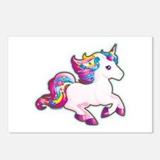 Kawaii Magical Candy Unicorn Postcards (Package of