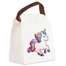 Kawaii Magical Candy Unicorn Canvas Lunch Bag