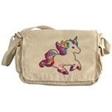Kawaii unicorn Messenger Bag