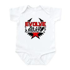 Snowmobile Evolution Infant Bodysuit