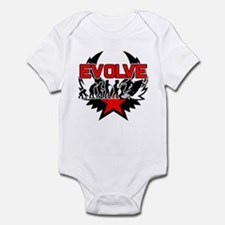 Snowmobile Evolution Infant Bodysuit