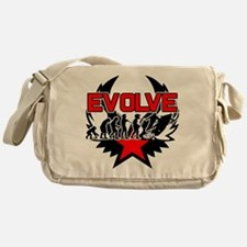 Snowmobile Evolution Messenger Bag