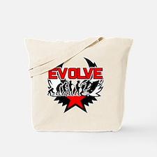 Snowmobile Evolution Tote Bag