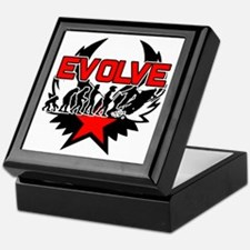 Snowmobile Evolution Keepsake Box