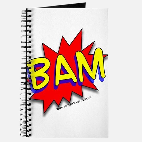 BAM Comic saying Journal