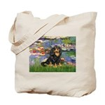 Lilies (2) & Cavalier (BT) Tote Bag