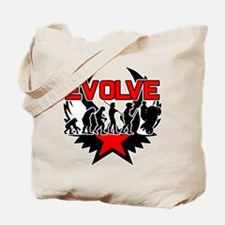 Motorcycle Evolution Tote Bag