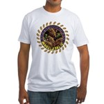 Morelaholic morel gifts Fitted T-Shirt