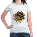 Morelaholic morel gifts Jr. Ringer T-Shirt