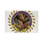 Morelaholic morel gifts Rectangle Magnet (100 pack