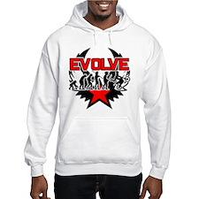 Dirt Bike Evolution Hoodie Sweatshirt