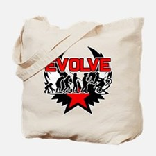 Dirt Bike Evolution Tote Bag