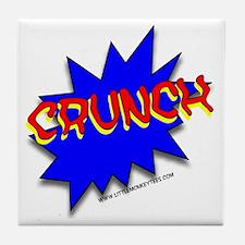 CRUNCH comic strip Tile Coaster