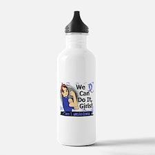 Lymphedema Rosie Anime Sports Water Bottle
