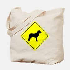 Chesapeake Bay Retriever Crossing Tote Bag