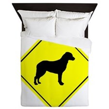 Chesapeake Bay Retriever Crossing Queen Duvet