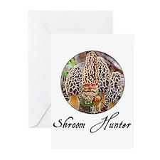 shroom hunter Greeting Cards (Pk of 10)