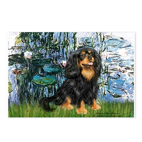 Lilies (1) & Cavalier (BT) Postcards (Package of 8