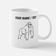 Custom Gorilla Drawing Mugs