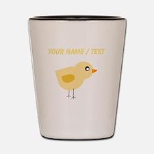 Custom Yellow Chick Shot Glass