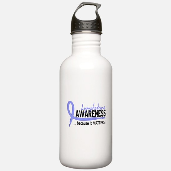Lymphedema Awareness 2 Sports Water Bottle