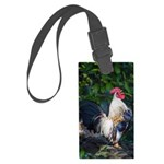 Early Morning Wakeup Call Large Luggage Tag