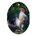 Early Morning Wakeup Call Ornament (Oval)