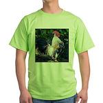 Early Morning Wakeup Call Green T-Shirt