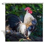 Early Morning Wakeup Call Shower Curtain