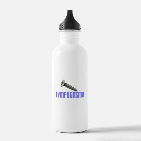 Screw Lymphedema 1 Sports Water Bottle