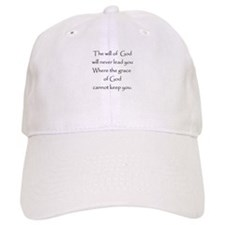 Gods will Gods Grace Hat