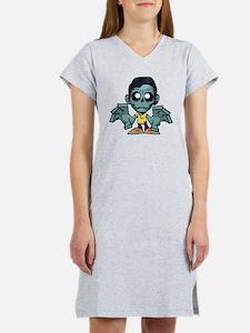 Zomboy, the zombie boy Women's Nightshirt