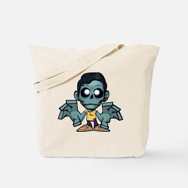 Zomboy, the zombie boy Tote Bag