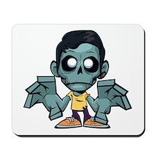 Zomboy, the zombie boy Mousepad