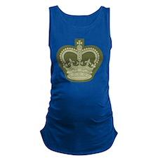 Royal Crown Maternity Tank Top