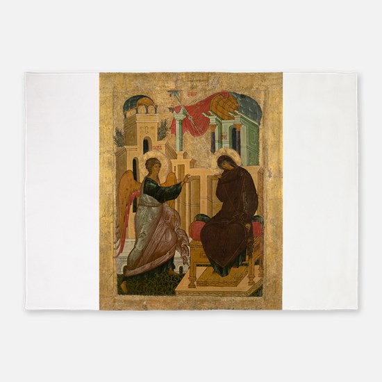 Anonymous - The Annunciation - 15th century 5'x7'A