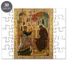 Anonymous - The Annunciation - 15th century Puzzle