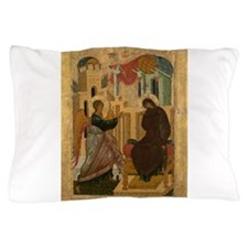 Anonymous - The Annunciation - 15th century Pillow