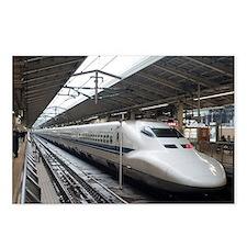Shinkansen bullet train i Postcards (Package of 8)
