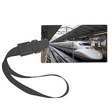 Shinkansen bullet train in stati Luggage Tag