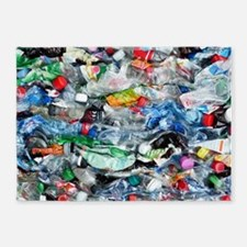 Recycling plastic 5'x7'Area Rug