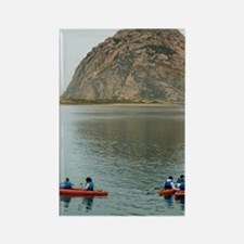 morro bay canoe Rectangle Magnet
