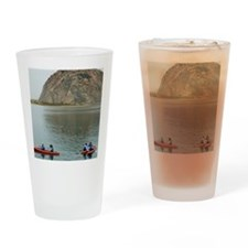 morro bay canoe Drinking Glass