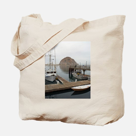morro bay pontoons Tote Bag