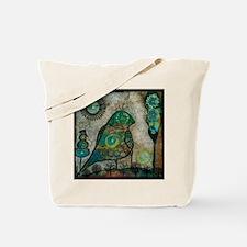 Birdie collage Tote Bag