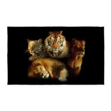 Wild Predators 3'x5' Area Rug